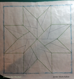 freezer paper traced block copy